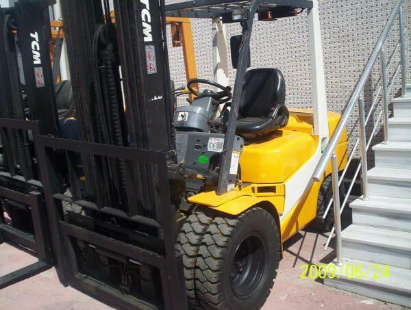 2. El TCM Dizel Forkliftler