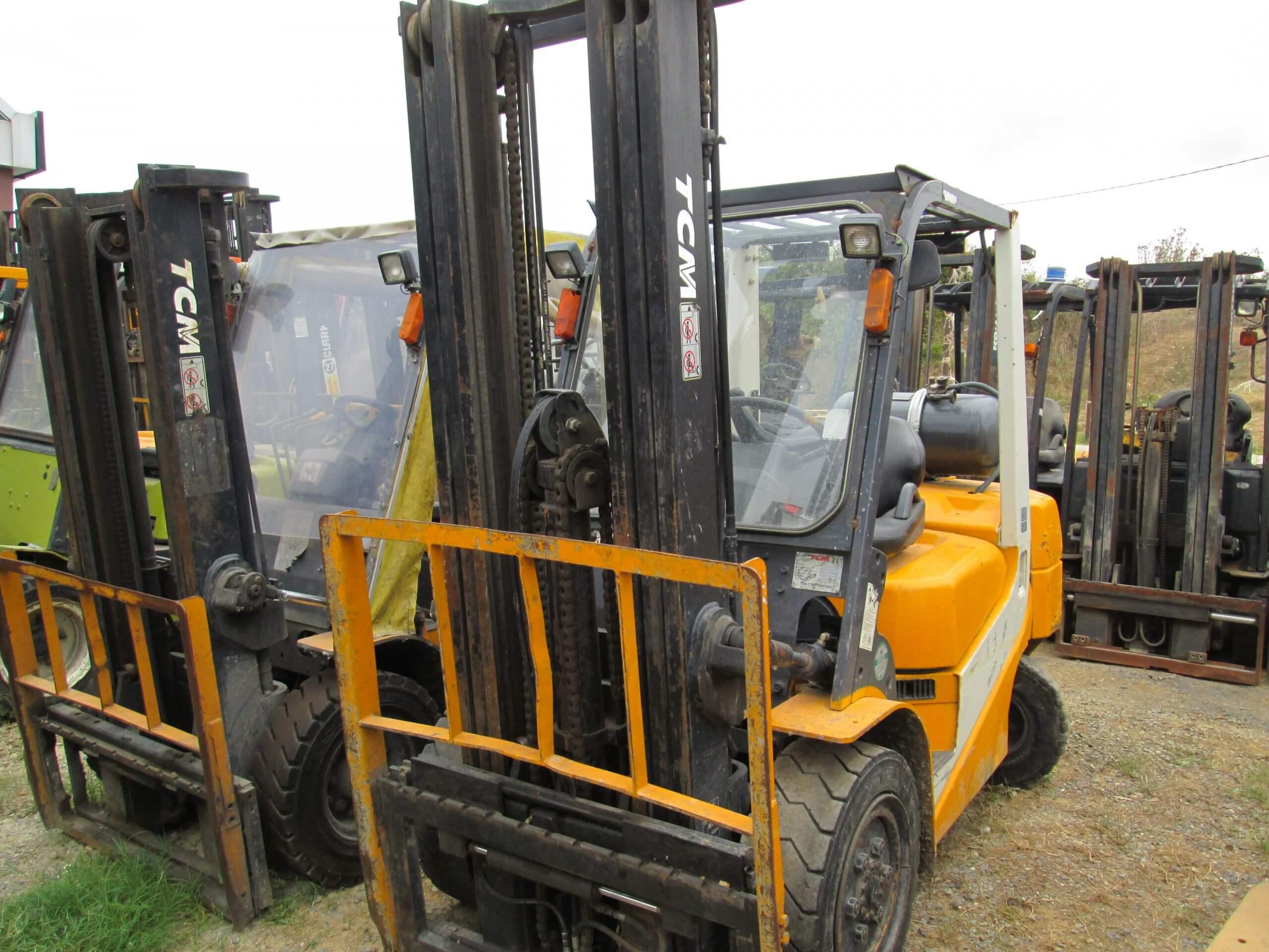 2. El Tcm LPG' li Forkliftler